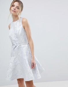 Платье металлик Coast - Серебряный