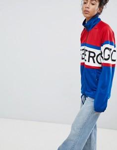 Oversize-куртка на молнии с логотипом Iceberg - Мульти