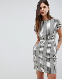 Платье в клетку Uttam Boutique - Черный