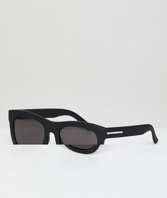 Черные квадратные солнцезащитные очки Hawkers Nobu - Черный