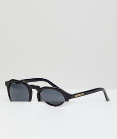 Черные круглые солнцезащитные очки Hawkers Warwick - Черный