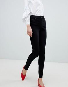 Мягкие джинсы скинни Vero Moda - Черный