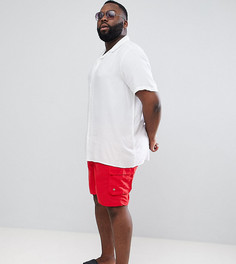 Шорты карго для плавания с поясом на шнурке BadRhino Plus - Красный