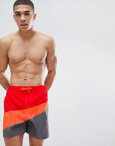 Красные шорты для плавания Nike Breaker NESS8442-071 - Черный