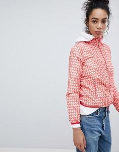 Куртка на молнии с логотипом Armani Exchange - Красный