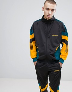Черная спортивная куртка в винтажном стиле adidas Originals CE4829 - Серый