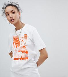 Белая футболка с принтом Puma эксклюзивно для ASOS - Белый