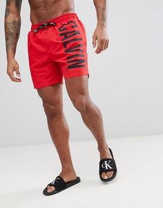 Шорты для плавания Calvin Klein Intense Power Medium - Красный