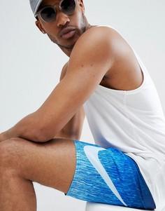 Синие короткие шорты для плавания Nike Volley NESS8454-416 - Синий