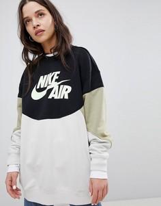 Свитшот в стиле колор блок Nike - Мульти