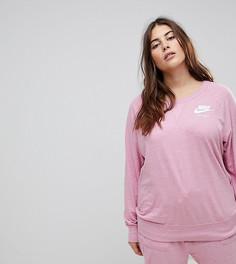 Розовый свитшот Nike Plus Gym Vintage - Розовый