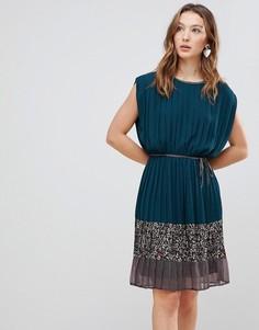 Платье с принтом Deby Debo Verdo - Зеленый