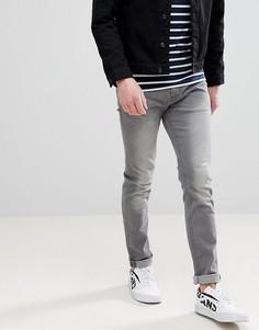 Серые узкие джинсы Blend Twister - Серый