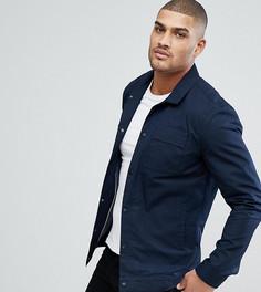 Куртка с карманами на груди Selected Homme TALL - Темно-синий