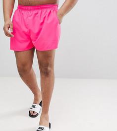 Розовые шорты для плавания Nike Plus Volley NESS8830-678 - Розовый