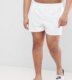 Белые короткие шорты для плавания эксклюзивно от Nike Plus Volley NESS8830-100 - Белый