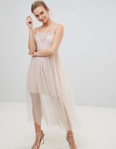 Тюлевое платье Glamorous - Розовый