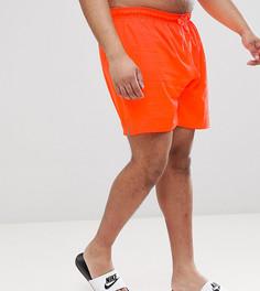 Красные шорты для плавания Nike Plus Vital NESS8432-618 - Оранжевый