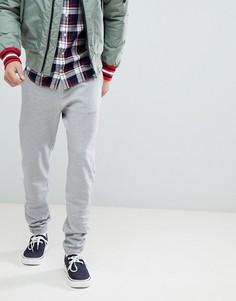Серые облегающие джоггеры с манжетами Tommy Hilfiger - Серый