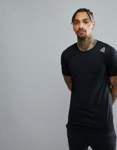 Черная футболка Reebok Training Supremium 2.0 BK6310 - Черный