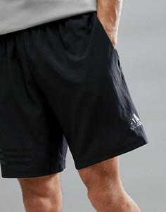 Черные шорты adidas Training CD7807 - Черный