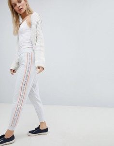 Спортивные штаны с контрастной отделкой Jack Wills - Белый