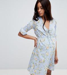 Платье с принтом для беременных New Look - Черный