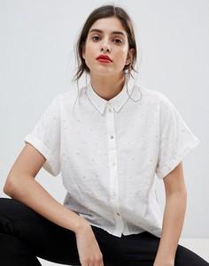 Рубашка с сердечками Esprit Love - Белый