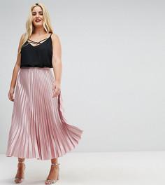 Юбка в складку Uttam Boutique Plus - Розовый