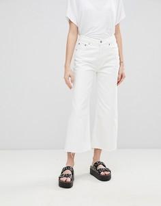 Свободные джинсы с классической талией Cheap Monday - Белый