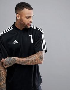 Черная футболка adidas Football Tanip Icon CD8341 - Черный