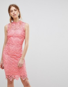 Платье кроше Paper Dolls - Розовый