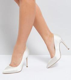 Туфли на высоком каблуке для широкой стопы ASOS PARIS - Кремовый