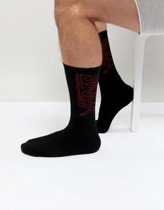 1 пара черных носков Vans VA3H3MBLK - Черный