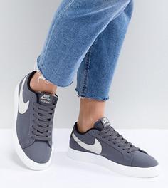 Серые кроссовки Nike Sb Blazer Vapor - Серый