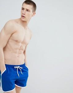 Синие шорты для плавания boohooMAN - Синий