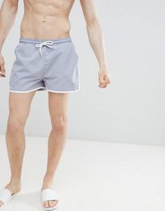 Серые шорты для плавания boohooMAN - Серый