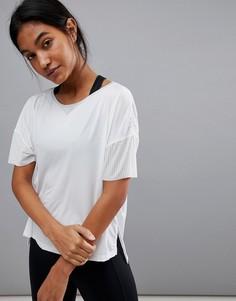 Белая футболка с перфорацией Reebok Training - Белый