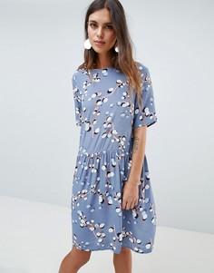 Свободное платье с принтом Y.A.S - Мульти