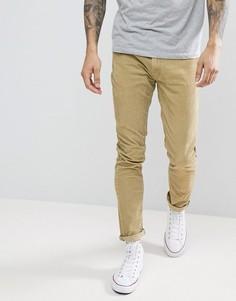 Бежевые вельветовые джинсы Rollas - Коричневый Rollas