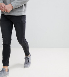 Черные выбеленные облегающие джинсы Brooklyn Supply Co. - Синий