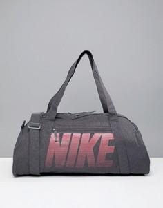 Серая сумка дафл Nike Gym Club Training - Серый