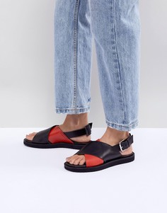 Кожаные сандалии Mads Norgaard - Мульти