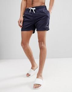 Короткие темно-синие шорты для плавания Tommy Hilfiger - Темно-синий