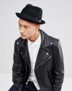 Мягкая фетровая шляпа Goorin Good Boy - Черный
