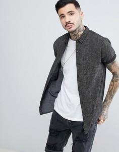 Рубашка в горошек Rollas Beach Boy - Черный Rollas