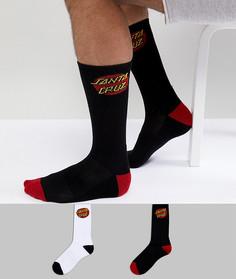 Набор из 2 пар носков Santa Cruz - Мульти
