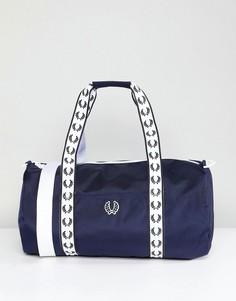 Темно-синяя спортивная сумка Fred Perry - Темно-синий