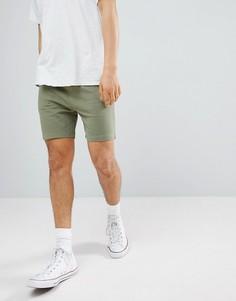 Классические шорты из бархатистого трикотажа Another Influence - Зеленый