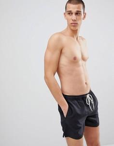 Шорты для плавания Selected Homme - Черный